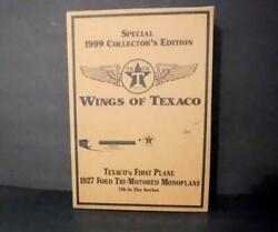 Gold - Wings Of Texaco 1927 Ford Tri-motored 7th In Series Texacoand039s 1st Plane