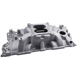 Intake Manifold For Chevy Sbc Dual Plane 283 305 327 350 Small Block 55-95 New