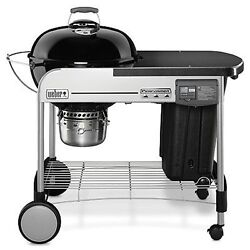 Weber 15401001 Performer Deluxe Charcoal Grill, 22-inch, Black