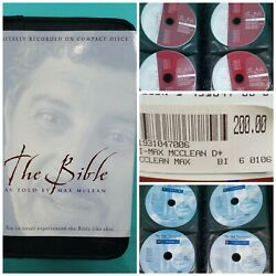 The Bible As Told By Max Mclean Audio 66 Cdand039s Niv