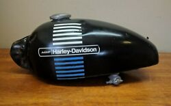 Vintage 1970and039s Amf Harley-davidson Z90 Fuel Gas Tank 041
