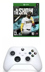 Xbox Series X Console Bundle Mlb The Show 21, Additional White Xbox Controller