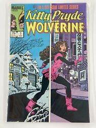 Kitty Pryde And Wolverine 1 Nov1984 From Comic Book Store Inventory Nos Rare