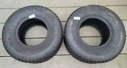 Two New 18x8.50-8 Carlisle Turf Trac R/s Lawn Tractor Tires