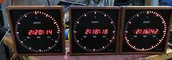 Evertz 1275a Digital Clock With Timecode And Manual Start. 23cm