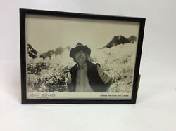 Signed Peace John Denver Picture, Rca Records And Tape With Cd Collection