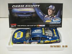 Chase And Bill Elliott 2014 9 Napa And Coors Champion 2 Car Set Autograph 1/24