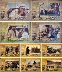 Good The Bad And The Ugly Italian Fotobusta Movie Posters X10 Leone Eastwood