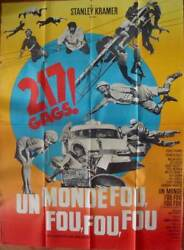 Itand039s A Mad Mad Mad Mad World French Grande Movie Poster Spencer Tracy 1964