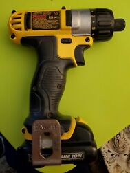 Dewalt Dcf610 12v Cordless Screwdriver With Battery And Charger Dcb120