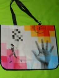 NEW LARGE TOTE 20quot; x 16quot; ATHLETIC Pattern $1.76