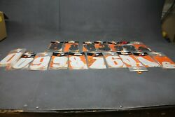 Lot Of 35 Packs Of One Industries Number Decals Lot In Stock Ships Today