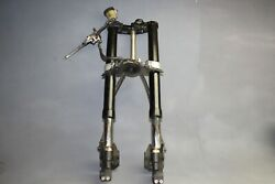 04-06 Yamaha Yzf-r1 Front End Forks Triple Tree Brakes