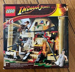 New Lego 7621 Indiana Jones And The Lost Tomb Marion Snakes Skeleton Retired