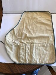 Vintage And Co. Entree Knives Cloth Roll Up Pouch 6 Slots 2 Available