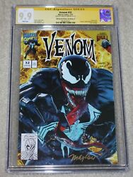 Venom 32 Cgc Ss 9.9 Mike Mayhew Signed Lethal Protector 1 Gold Variant-b Not 9.8