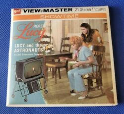 Lucille Ball B588 Here's Lucy And The Astronauts Tv Show View-master Reels Packet