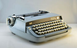1973 Smith Corona Sterling Manual Typewriter Serviced Superb Working Condition