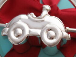 And Co Silver Race Spin Car Baby Rattle Packaging Box Pouch