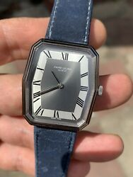 Vintage Favre-leuba Nos Mens Dress Watch Swiss Made Hand-w 316x363mm With Tag