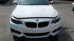2018 Bmw 2 Series Front End In 300 White Bonnet Bumper Lights Wings And Rads