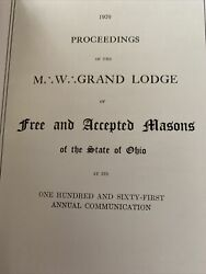 1970 Proceedings Of The M W Grand Lodge Of Masons .the State Of Ohio