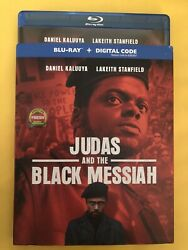 Judas And The Black Messiah Blu Ray With Slipcover. No Digital free shipping
