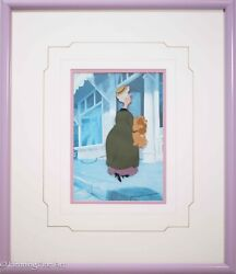 Walt Disney Hand Painted Production 1955 Animation Cel Lady And The Tramp Rare