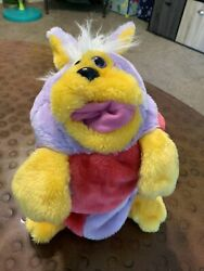 Vtg 1986 Worlds Of Wonder Teddy Ruxpin Anything The Other Hand Puppet Reversible