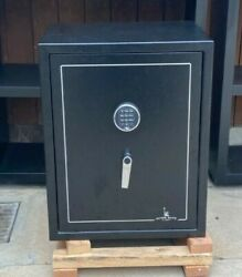 Liberty Home Gun Safe With Chrome Hardware, Used - Good Condition