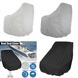 Boat Seat Cover Outdoor Collapsible Dustproof Uv-resistant Ship Chair Cover