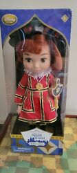 Disney Store Animators Its' A Small World Singing Doll England Brand New In Pk