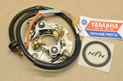 Nos Yamaha Tx650 Xs1 Xs2 Xs650 Ignition Point Contact Breaker Plate 256-81620-10