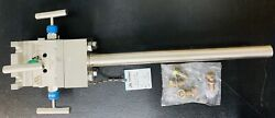 Meriam 40h Insertion Accutube Flow Meter With Integral 3-valve Head 316ss -- New