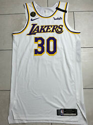 Los Angeles Lakers Nike Team Issued Troy Daniels Authentic Pro Cut Jersey