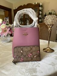 NWT Coach Small Town Bucket Handbag With Wallet $170.00