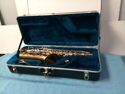 Vintage Yamaha Yts-23 Student Model Tenor Saxophone With Hard Case Ready To Play