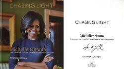 Amanda Lucidonsigned In Personchasing Light Michelle Obama1st/1st + Photos