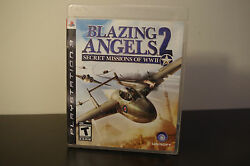 Blazing Angels 2 Secret Missions Of Wwii Sony Ps3 2007 Tested / Cib