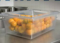 New Clear Rubbermaid Premier Food Storage Containers 26x18x9 Set Of 5