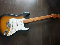 Super 92 Manufacture Fender Japan St57-128 Lacquer Finish Limit Extrad Series Of
