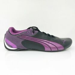 Womens Future Cat M2 304715 02 Purple Black Running Shoes Lace Up Size 10