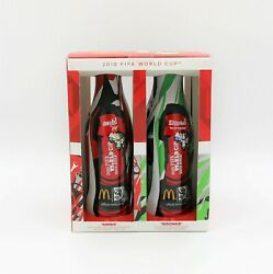Rare - 2010 Fifa World Cup South Africa Mcdonalds Coke Bottle Collector Set Of 4