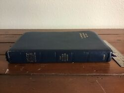 Oxford 1967 Kjv New Scofield Reference Bible Natural Morocco Leather Wide Margin