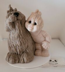 Darlene W/dog Quarry Critters Second Nature Design Display Item Very Gently Used