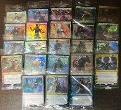 Mtg Stained Glass Planeswalker 23 Types Set