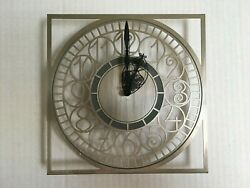 Frank Lloyd Wright Howell And Co. Wall Clock Repair Or Parts