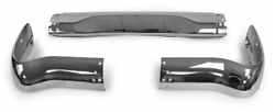 55 Chevy Wagon Rear 3-piece Bumper 1955 Chevrolet New Nomad And Station Wagon