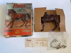 1960s Vintage Marx Johnny West Horse, Flame For Jane West Great Condition