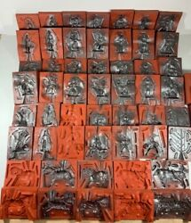 Over 30 Reb Toys Castings Co Rubber Lead Molds Medieval Knights Horses Weapons
